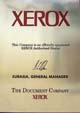 XEROX Authorised dealer